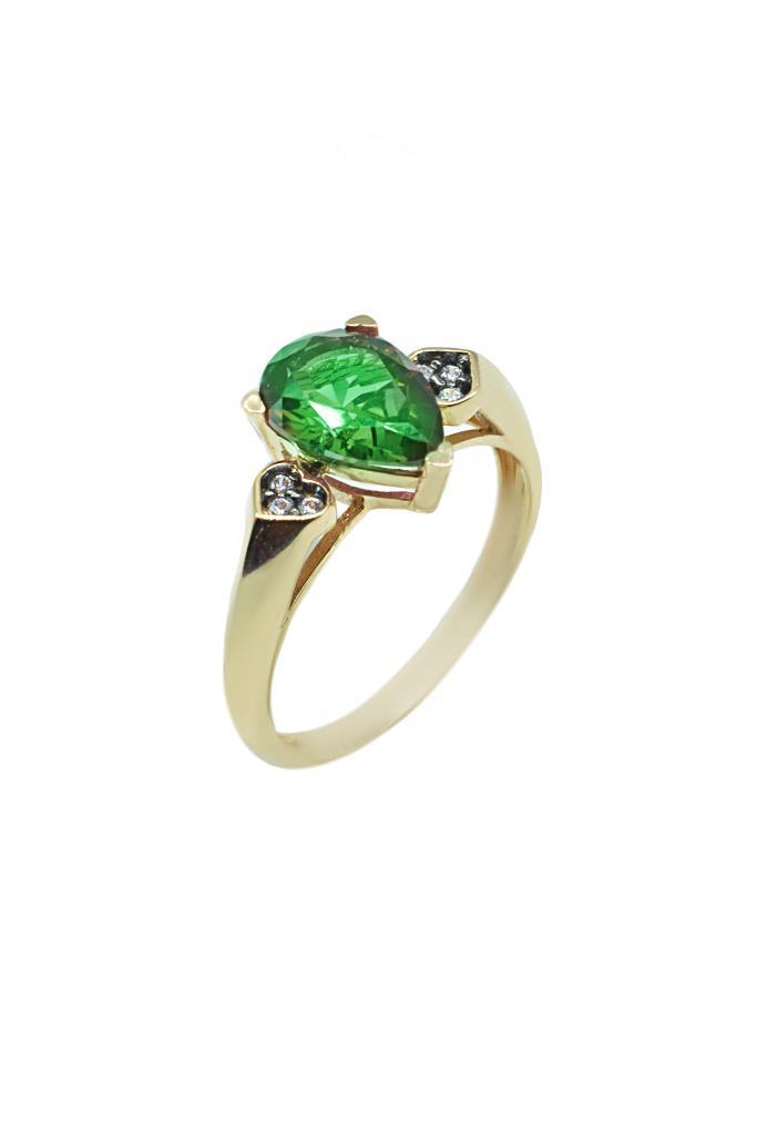 nkj.gr-Χρυσό Δαχτυλίδι Δάκρυ Κ14-NKJ 242c2cdd938